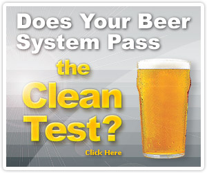 Learn how Great Tasting Beer Starts with a Clean System