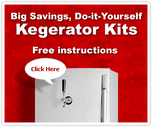 How to build a Kegerator - Do-It-Yourself and Save!