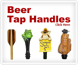 Wide Selection of Beer Tap Handles